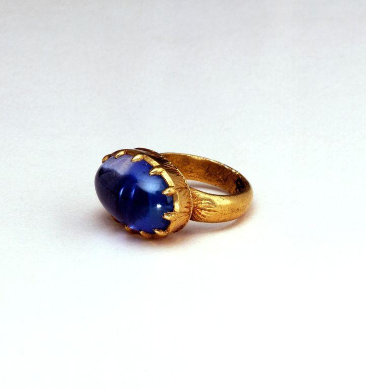 19th-century gold ring