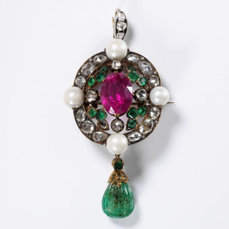 Multi-Jewel Pendant