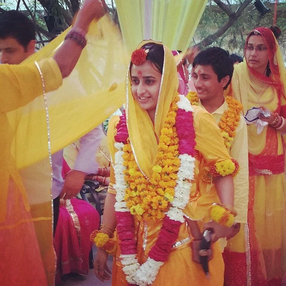 Padmini days before her wedding