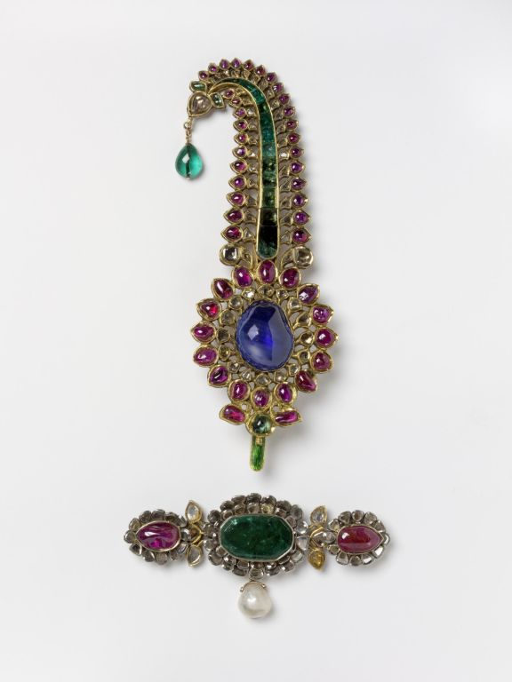 Sarpech. Turban jewel.