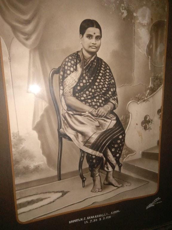 Gayatri's paternal grandmother