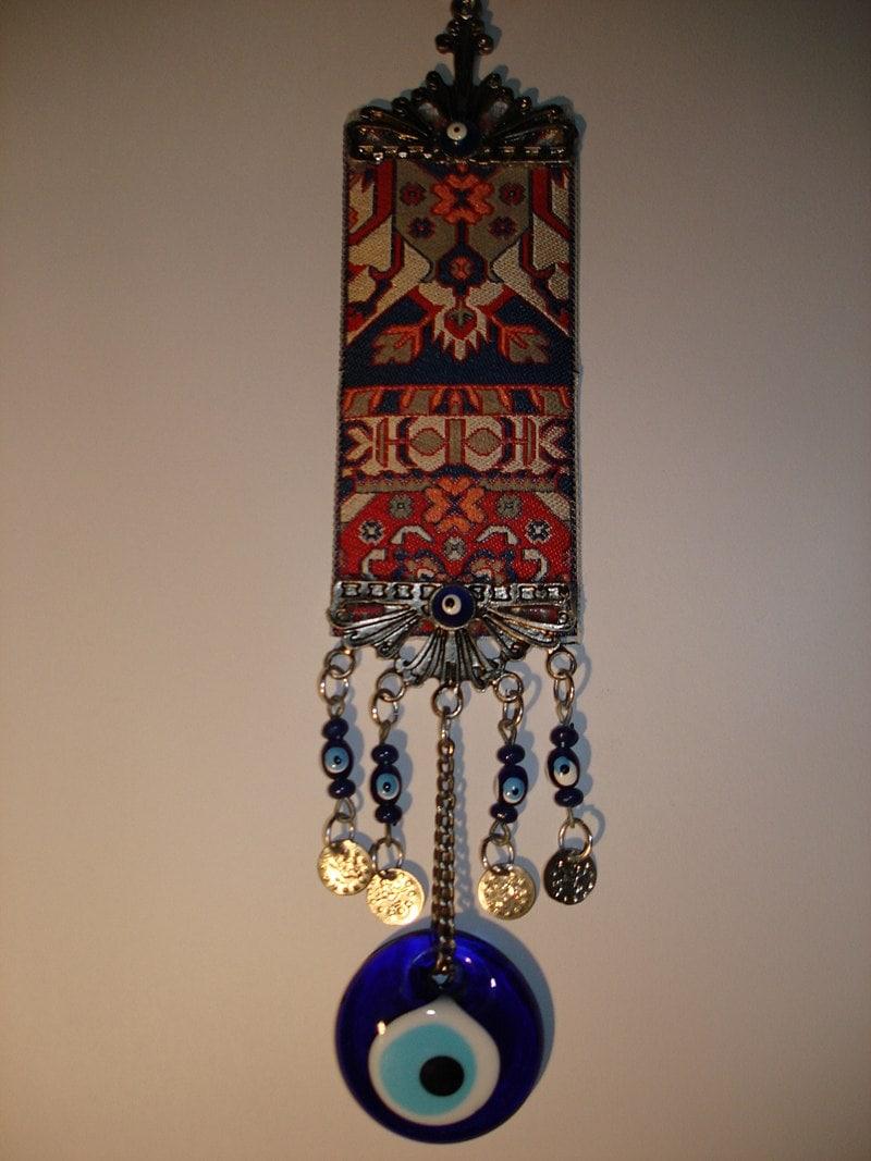 Turkish Nazar amulet hung on doors