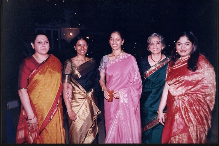 Ahalya with family