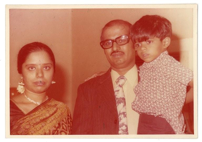 Ahalya's parents