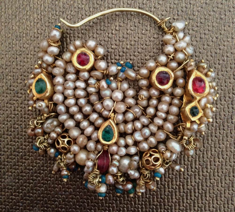 Antique Indian Nose Jewellery