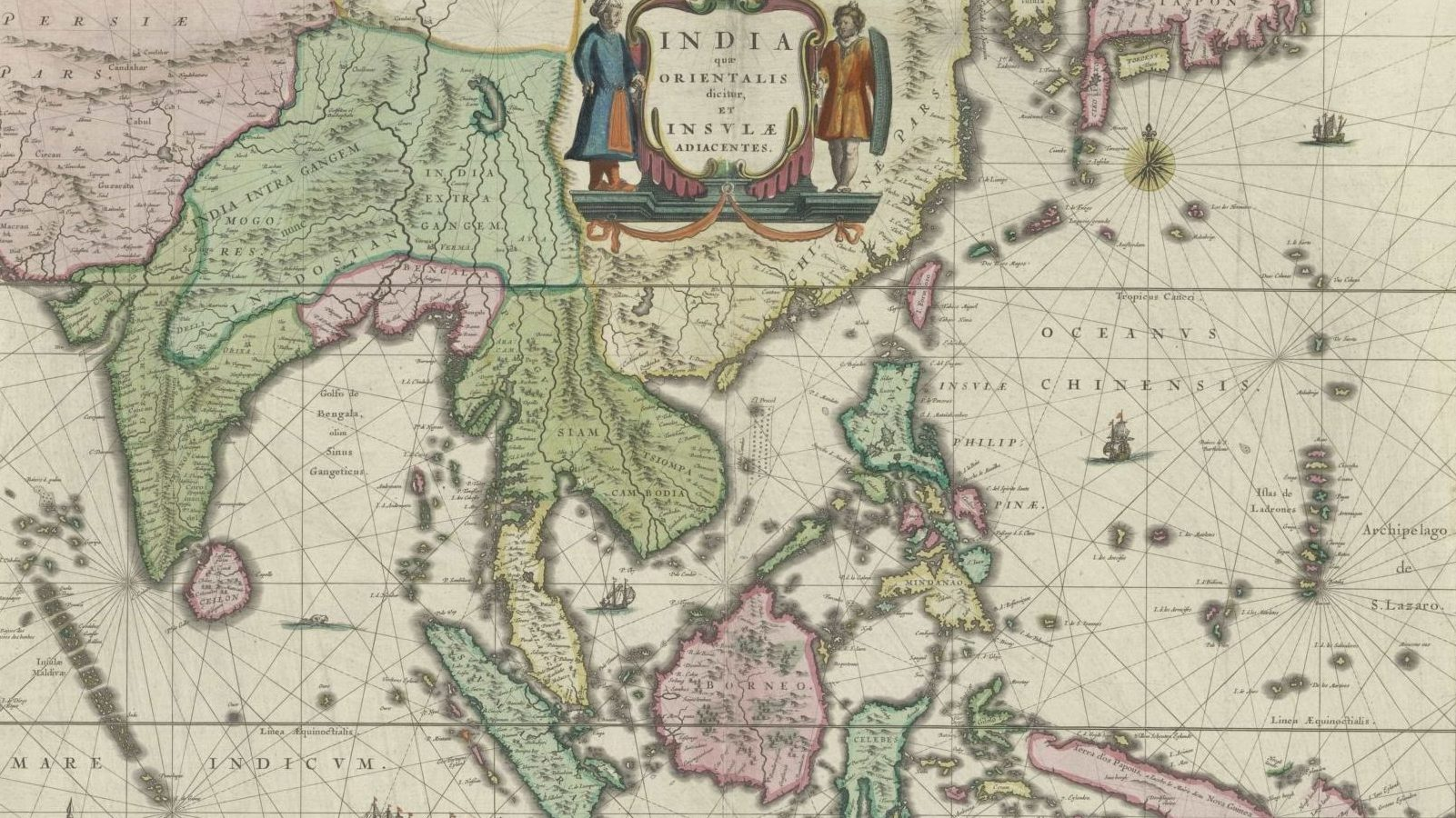 1635 Map of India