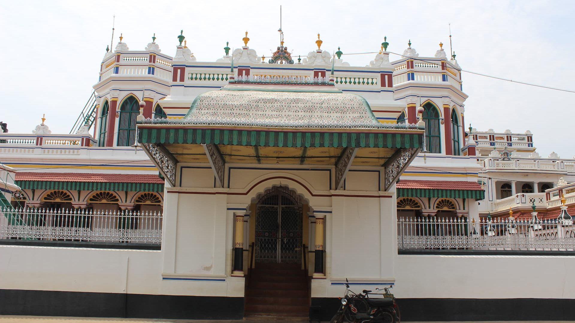 Kanadukathan Chettinad Palace Entrance