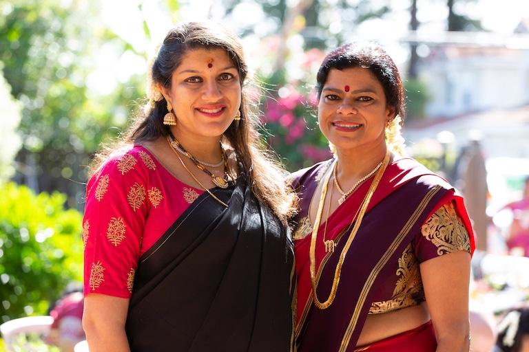 Sujatha and Samyuktha